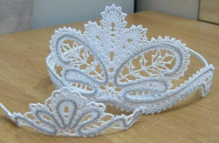 Advanced Embroidery Designs Fsl Battenberg Lace Tiara For A Girl