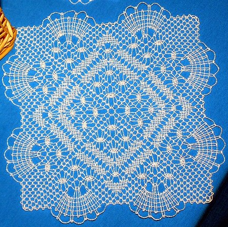 FSL Bobbin Lace Fans and Diamonds Doily (Now 25% Off!)