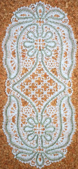 CROCHET DOILY PATTERN SUNFLOWER - CROCHET PATTERNS