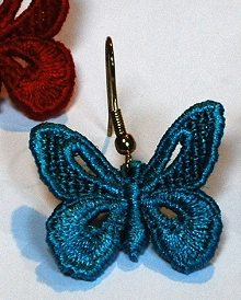FSL Butterfly Earrings Set