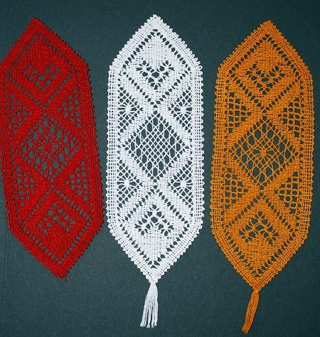 embroidery projects ideas - Bookmark Design Ideas