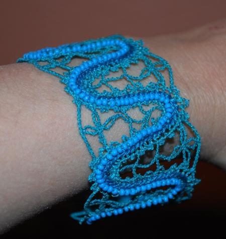 Advanced Embroidery Designs - FSL Battenberg Bracelet