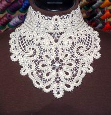 FSL Battenberg Lace Choker Collar Set