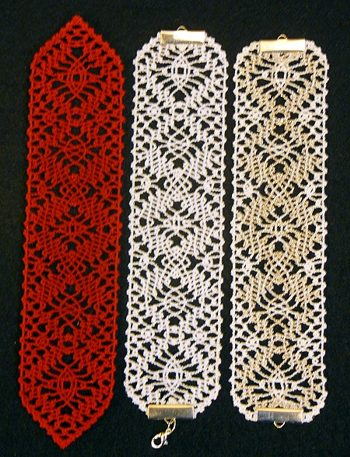 Advanced Embroidery Designs Fsl Bobbin Lace Bookmark Set