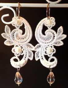 FSL Paisley Earrings
