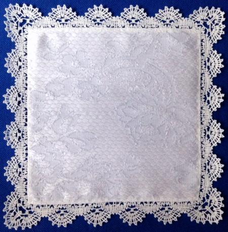 Advanced Embroidery Designs Square Doily Or Handkerchief