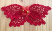 FSL Battenberg Lace Bow