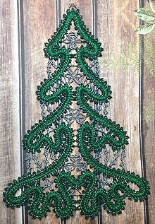 advanced embroidery designs - christmas >> freestanding lace