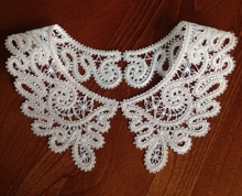 FSL Battenberg Collar Freestanding Lace Machine Embroidery Design