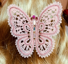 FSL Battenberg Butterfly Pin