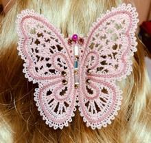 FSL Battenberg Butterfly Pin machine embroidery design