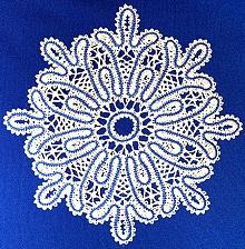 Freestanding Battenberg Lace Snowflake machine embroidery designs