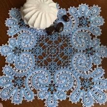 Freestanding Battenberg Lace Frost Spirals Doily Machine Embroidery Design
