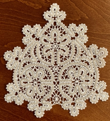 FSL Battenberg Lace Insert or Doily