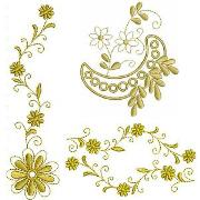 Floral Embellishment Set