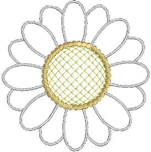 Flower applique design Flower monogram embroidery design Sunflower Applique Design Sunflower embroidery design Machine embroidery design