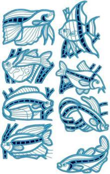 Tropical Fish Sets I and II