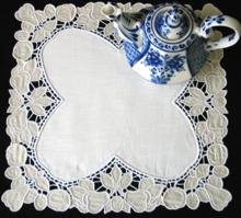 Cutwork Lace Fruit Doily