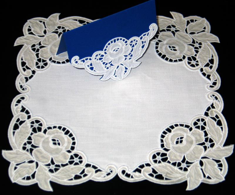 Advanced Embroidery Designs Cutwork Lace Rose Corner
