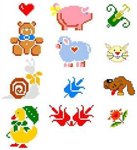 Pics Photos  For Kids Embroidery Designs
