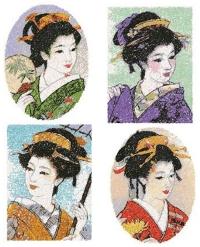 Geishas Set II