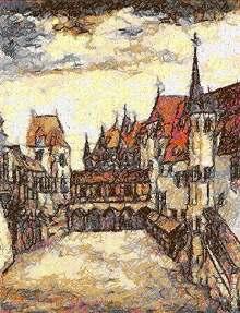 Albrecht Durer. Insbruck Castle.
