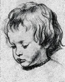 Peter Paul Rubens. Portrait of a Boy.
