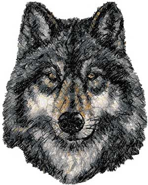 Advanced Embroidery Designs  Wolf