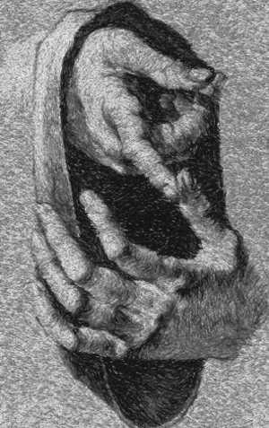 Dürer, Self-portrait, Study of a Hand and a Pillow (video ...