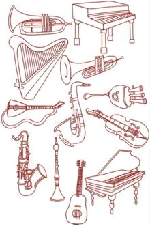 Musical Instrument Set I