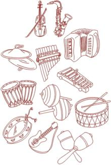 Musical Instrument Set II