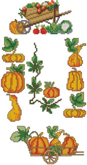 Thanksgiving Pumpkin Set