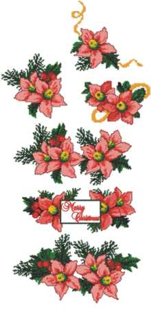 Poinsettia Linen Set