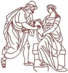 Rebecca Gives Abraham's Servant Water
