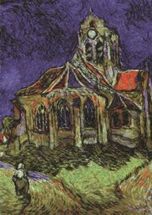 Church in Auvers by Vincent van Gogh