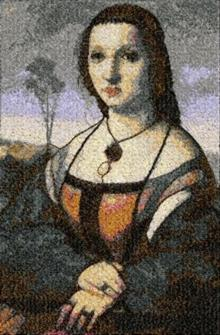 Portrait of Maddalena Doni by Raphael