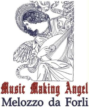 Music Making Angel by Melozzo da Forli