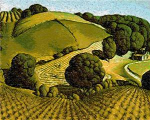 Young Corn by Grant Wood