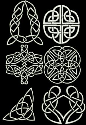 Advanced Embroidery Designs Celtic Motif Set Iv