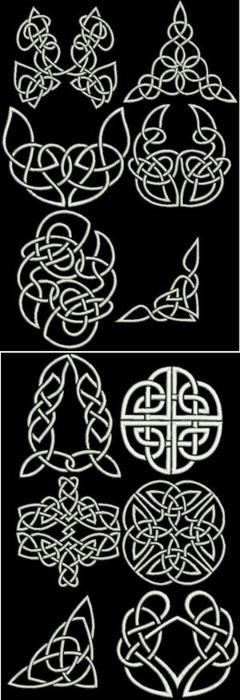 Celtic Motif Sets III and  IV