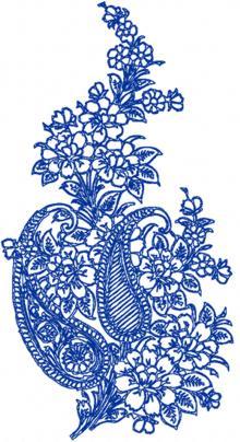 Paisley Floral motif