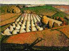 Fall Ploughing by Grant Wood