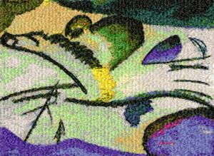 Lyrical by Wassily Kandinsky
