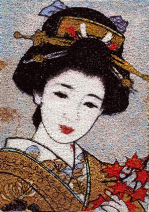 Geisha Series: Maple Leaves