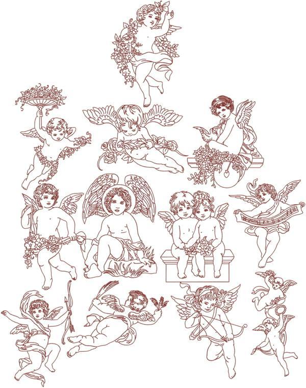 Design embroidery free machine victorian «
