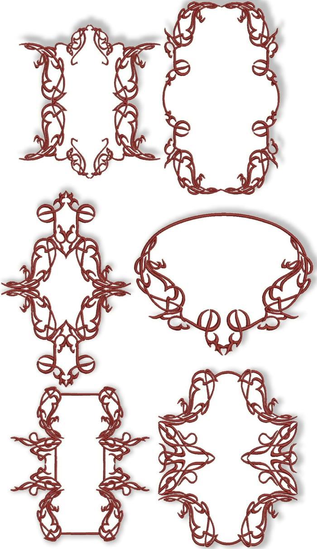 Advanced Embroidery Designs - Decorative Frame Set