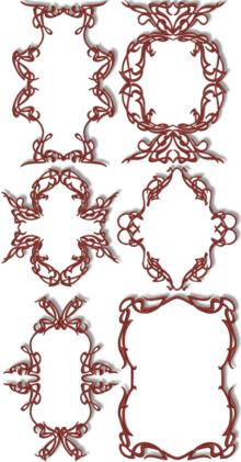 Decorative Frame Set II