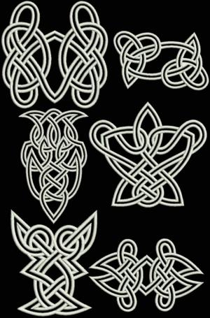Celtic Motif Set VI