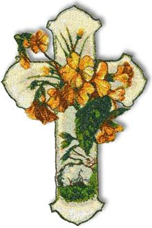 Easter Primrose Cross