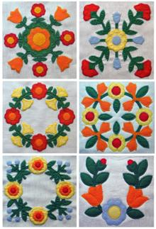 Antique Quilt Applique Set